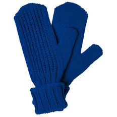 Варежки teplo Nordkyn, ярко-синие фото
