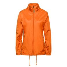 Ветровка женская B&C Sirocco, оранжевая фото