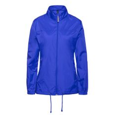 Ветровка женская B&C Sirocco, ярко-синяя фото
