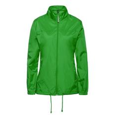 Ветровка женская B&C Sirocco, зеленое яблоко фото