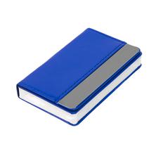 Визитница Горизонталь, синий фото