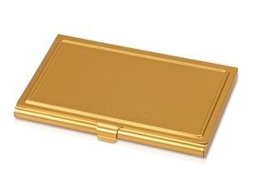Визитница, золотой фото