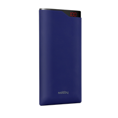 Внешний аккумулятор Nobby Comfort, 15000 мАч, синий фото