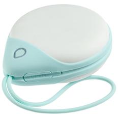 Внешний аккумулятор с обогревом рук Life Source, 6000 mAh, белый / мятный фото