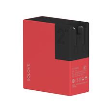 Внешний аккумулятор Xiaomi Solove W2 5000, красный фото