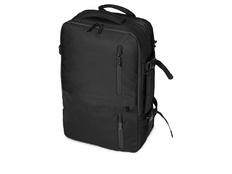 Водостойкий рюкзак-трансформер Convert с отделением для ноутбука 15, чёрный фото