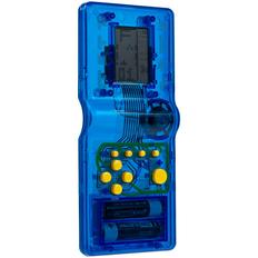 Игровая консоль Tetramino Transparent, синяя фото