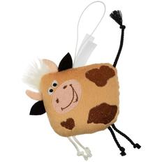 Игрушка-подвеска новогодняя Boogey Moogey Bright, коричневая фото