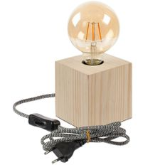 Лампа интерьерная Molti Retrospective, бежевая фото