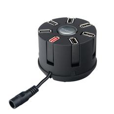 Зарядное устройство автомобильное Rombica Auto MC17, черное фото