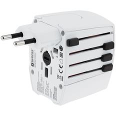 Зарядное устройство сетевое S Kross MUV USB, белое фото