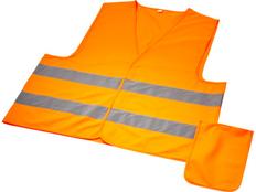 Жилет защитный Watсh-out, оранжевый фото