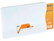 Защитный чехол RFID для кредитных карт, белый фото