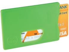 Защитный чехол RFID для кредитных карт, зеленый фото