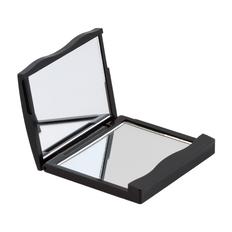 Зеркальце двойное для макияжа, черный фото