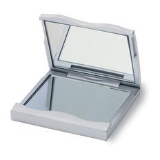 Зеркальце прямоугольное, серый фото