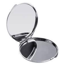 Зеркальце ROUND, серебристое фото