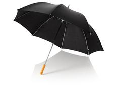 """Зонт трость механический Karl 30"""", черный фото"""