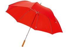 """Зонт трость механический Karl 30"""", красный фото"""