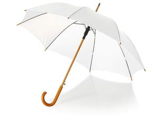 Зонт трость полуавтомат Kyle, белый фото