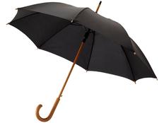 Зонт трость полуавтомат Kyle, черный фото