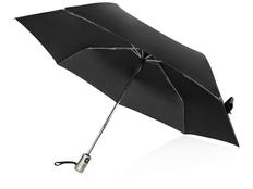 Зонт складной автомат Voyager Open, черный фото