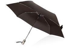 Зонт складной автомат Voyager Open, коричневый фото