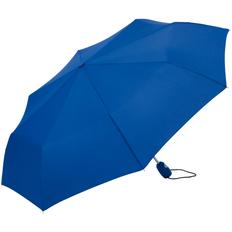 Зонт складной автомат Fare AOC, синий фото