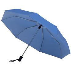 Зонт складной автомат со светоотражающим куполом Molti Show Up, синий фото