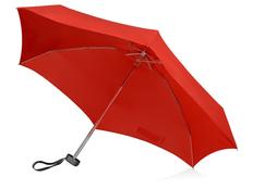 Зонт складной компактный в футляре механический US Basic Frisco, красный / черный фото