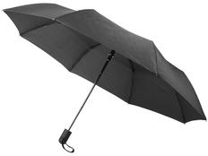Зонт складной полуавтомат Avenue Gisele, черный фото