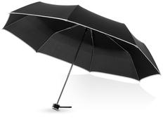 Зонт складной механический Balmain Линц, черный фото