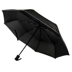 Зонт складной автомат London, черный фото