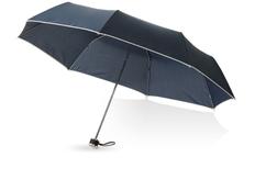 Зонт складной механический Balmain Линц, синий фото