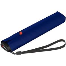 Зонт складной механический Knirps US.050, темно-синий фото