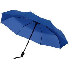 Зонт складной Molti Monsoon, ярко-синий фото