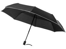 Зонт складной автомат Luxe Scottsdale, черный фото