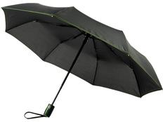 Зонт складной автомат Avenue Stark- mini, черный / зеленый фото