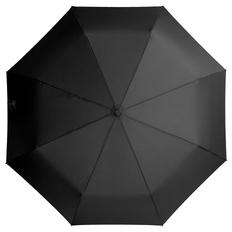Зонт складной полуавтомат Unit Comfort, черный фото