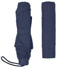 Зонт складной механический Unit Light, темно-синий фото