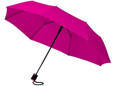 Зонт складной полуавтомат Wali, маджента фото