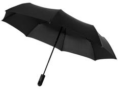 Зонт складной автомат Marksman Traveler, черный фото
