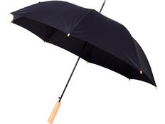 Зонт трость полуавтомат Avenue Alina, чёрный фото