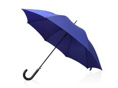 Зонт трость полуавтомат Алтуна, синий фото