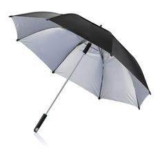 """Зонт трость антишторм механический XD Design Hurricane 27"""", черный фото"""