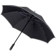 Зонт-трость автомат Hugo Boss Gear, черный фото