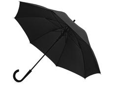 Зонт трость механический Bergen, черный фото