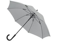 Зонт трость механический Bergen, серый фото