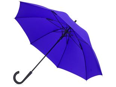 Зонт трость механический Bergen, синий фото