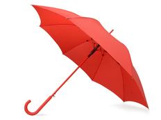 Зонт трость полуавтомат US Basic Color, красный фото